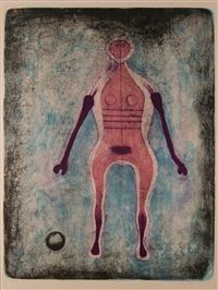 Le Negresse by Rufino Tamayo