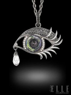 Stephen Webster's Envious Eye pendant (7 Deadly Sins Series)