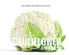Cauliflower 3 Differ