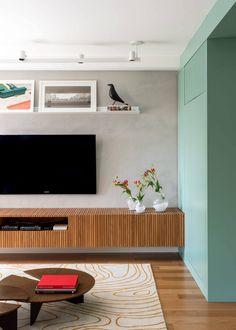 A Sala de TV e seus truques de decoração - Decostore