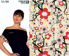 Supremebeing: Womenswear. SS/2008. Print Direction and Design.  Mirella Bruno Print Design. 2007.