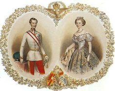 El emperador Francisco José y la emperatriz Isabel