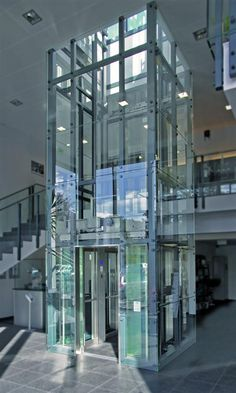 Wittur Group: the world's leading independent supplier of components for lifts, elevators, doors, engines and lift cars. Lift Design, Cabin Design, Glass Lift, Bubble Tent, Elevator Design, Brick Projects, Glass Elevator, Build Your House, Glass Facades