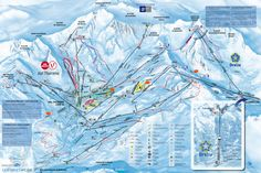 Updated Val dIsre Tignes piste map 20172018 Click to see