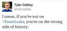 i love the little twitter wars - that may sound really petty but i love watching lou be all sassy <3