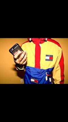 Shop from the best fashion sites and get inspiration from the latest tommy hilfiger vintage windbreaker. Tommy Hilfiger Windbreaker, Tommy Hilfiger Hoodie, Tommy Hilfiger Women, Dope Outfits, Urban Outfits, Swag Outfits, Pullover Windbreaker, Vintage Windbreaker, Vintage Tommy Hilfiger Jackets