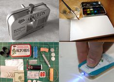 Altoid tin craft ideas here