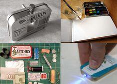 Altoid tin craft ideas here