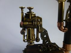 """""""Паровая станция"""" Настольная зажигалка / Наши пользователи / Блошиный рынок / Коллективные блоги / Steampunker.ru - сеть для любителей steampunk'а Trench Lighter, Fleas, Steampunk"""