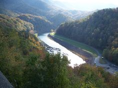 Image detail for -Little Tennessee River near Fontana Dam