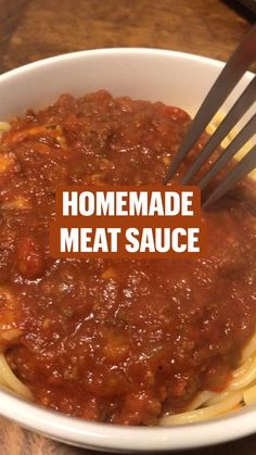 Homemade Meat Sauce, Meat Sauce Recipes, Soup Recipes, Cooking Recipes, Steak Dinner Recipes, Easy Dinner Recipes, Italian Recipes, Mexican Food Recipes, Cooking