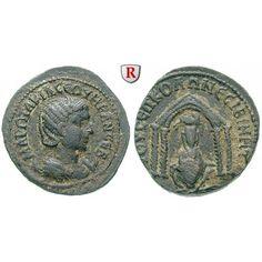 Römische Provinzialprägungen, Mesopotamien, Nisibis, Otacilia Severa, Frau Philippus I., Bronze, ss+: Mesopotamien, Nisibis. Bronze… #coins