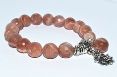 Luck and Good Fortune Bracelet Sunstone Bracelet with by iyildiz, $26.00