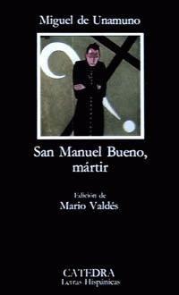 """""""San Manuel Bueno Mártir"""" es el tercer libro que nos tenemos que leer. Esta versión tiene comentarios para entender mejor el libro, pero que no son necesarios."""