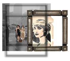 """""""1920s Backdrop"""" by lorelei-simpson on Polyvore featuring AmeriLeather, women's clothing, women, female, woman, misses, juniors and 1920s"""