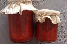 Kışlık Patlıcanlı Kırmızı Biberli Kahvaltılık (Kapya Biberli) Tarifi