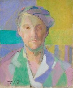 'Portrait of Magda Pach', 1932-1947 by Jacques Villon. Minneapolis Institute of Arts