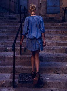 Maison Scotch blue dress