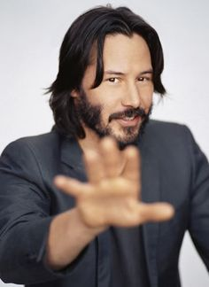WHY DO WE LOVE KEANU? Because his smile makes us smile. (chicfoo) keanu