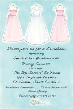 Picture Perfect #Bridesmaids #Bridal Shower Invitation : Bridal Shower Invitations