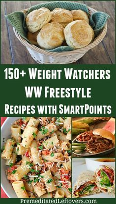 150 Weight Watchers Recipe with SmartPoints - WW Freestyle recipe ideas for every meal! #weightwatchers #wwfreestyle #smartpoints
