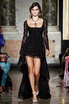 Beauty Gotic Gypsy Wedding Dresses Fashion Style Design Idea 4