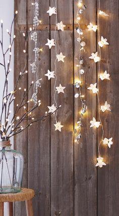 Kerstlampjes als decoratie