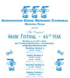 Annunciation Greek Orthodox Cathedral 3511 Yoakum Boulevard Houston, TX  77006. Office: (713) 526-5377. Fax: (713) 526-1048
