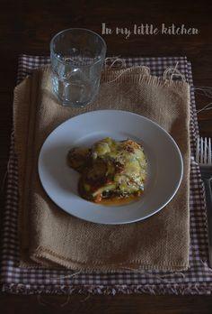 In my little kitchen: Lasaña de berenjena y calabacín