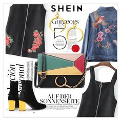 """""""SHEIN flowers harmony"""" by maiah-bee ❤ liked on Polyvore"""
