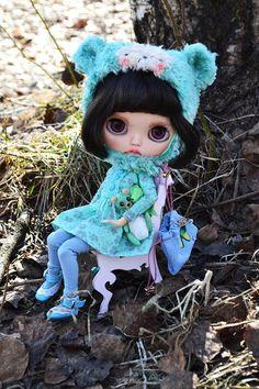 Blythe custom doll OOAK curving handmade OOAK Tiffany