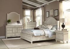 Bedroom Dark Bedroom Set White Bedroom Set Real Wood Beds Solid within size 3513 X 2530 White Wood Queen Bedroom Sets - Medium blue is also a superb choice Off White Bedrooms, White Bedroom Set, Bedroom Sets, Bedroom Decor, Ivory Bedroom, Bedding Sets, Beige Bedding, Mirrored Bedroom Furniture, Bed Furniture