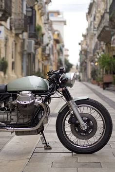 Modified Moto Guzzi 1000SP by Officine Rossopuro - An Italian custom motorcycle garage with a long portfolio of stunningly beautiful bikes, this is their most recent offering and unlike many of their client-specified builds, this one is for sale.