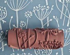 Browse unique items from patternedpaintroller on Etsy, a global marketplace of handmade, vintage and creative goods. Paint Rollers With Designs, Patterned Paint Rollers, Decoration, Art Decor, Unique Gifts, Handmade Gifts, Ikea Kura Bed, Simplicity Patterns, Painting Patterns