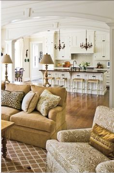 Cabinet Ideas For Living Room spacious family room with soothing decor … | pinteres…