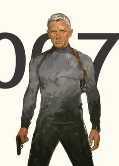 James Bond - 007 by Dave Seguin *