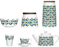 Mrs Peabod - A designers Inspiration board: Sagaform Retro Kitchenware
