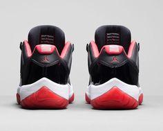 Air Jordan 11 Low True Red Official Images