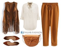 This is an Autumn outfit idea, gathering earthy shades mixed with white to spruce up the beautiful camel colors. You can adopt this style for work or just a casual day, it's comfy easy to breathe in and modest. You…