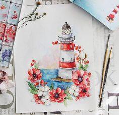 Watercolor Paintings For Beginners, Watercolor Art Lessons, Watercolor Sketchbook, Art Sketchbook, Watercolour, Pencil Art Drawings, Cool Art Drawings, Beautiful Drawings, Colorful Drawings