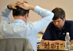 This photo shows the Norway Chess championship of 2014.