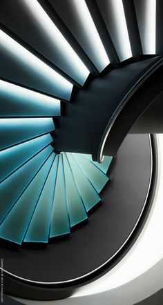 Cool staircase | stairway | #stairway #office http://www.ironageoffice.com/