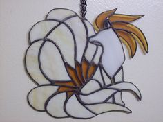 Ninetails Stained Glass by Blue-Falcon-Serenity on DeviantArt