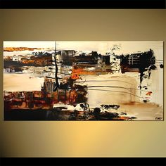abstract painting art home decor modern