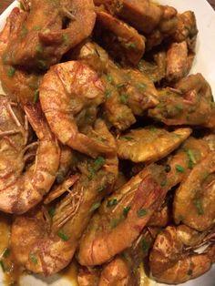 Udang sauce telor asin ... At Bandar Jakarta ...must try it!!!!
