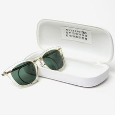 #MasonMartinMargiela 8 Cable Temple #Sunglasses.