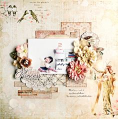 My little princess*My Creative Scrapbook Limited Edition May Prima - Princess Collection