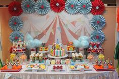 Circus 1st Birthday | CatchMyParty.com