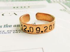tiny ringthin ringPersonalized ringEngraved Ringdainty by TBRingTB