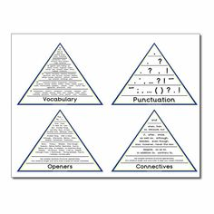 Pin by Michelle Du Ross-Smith on VCOP pyramid and Six